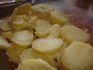 Musaca de cartofi cu carne tocata de pui