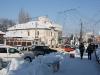 Bailesti iarna - Centrul orasului