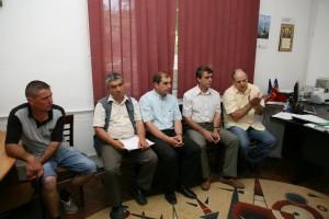Echipa de proiect la Spitalul Bailesti
